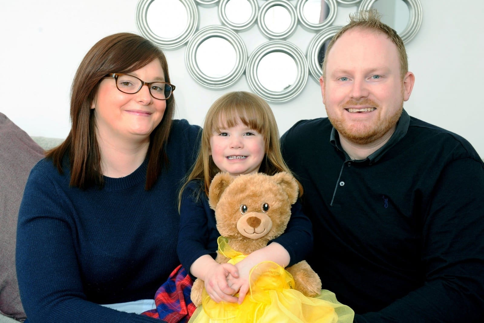 Determined Couple Who Went Through Five Rounds Of IVF Told Of Emotional Rollercoaster They Faced When Their Little Girl Was Born With Half A Heart