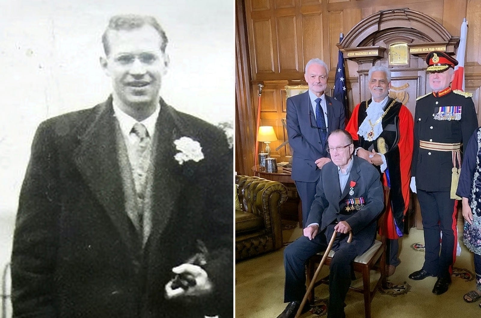 One Of The Last Surviving World War Two Veterans Finally Receives Medals After 70 Years