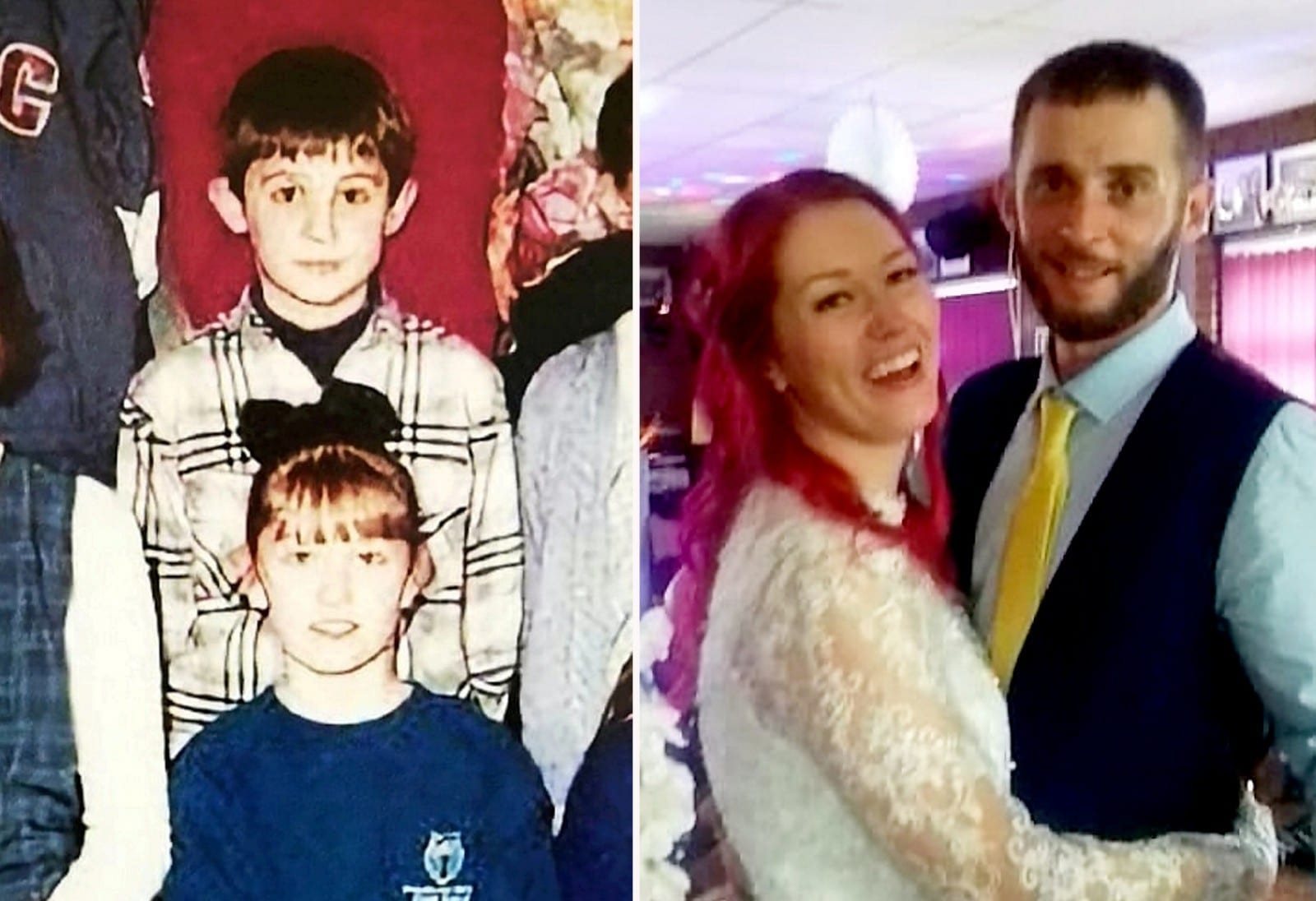 Couple Who Were Classmates Get Married In The School Where They Met As Children