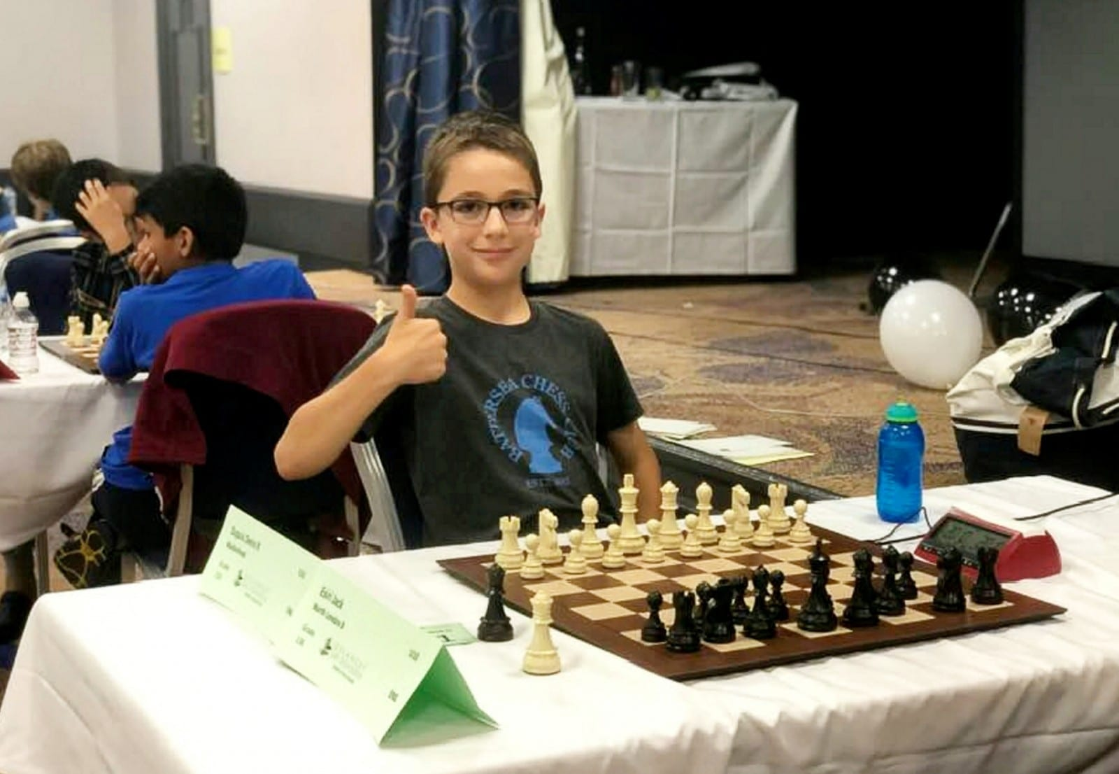 Schoolboy Is Hailed As The Next Grandmaster After Annihilating The Rest Of The Field In The World's Largest Chess Tournament