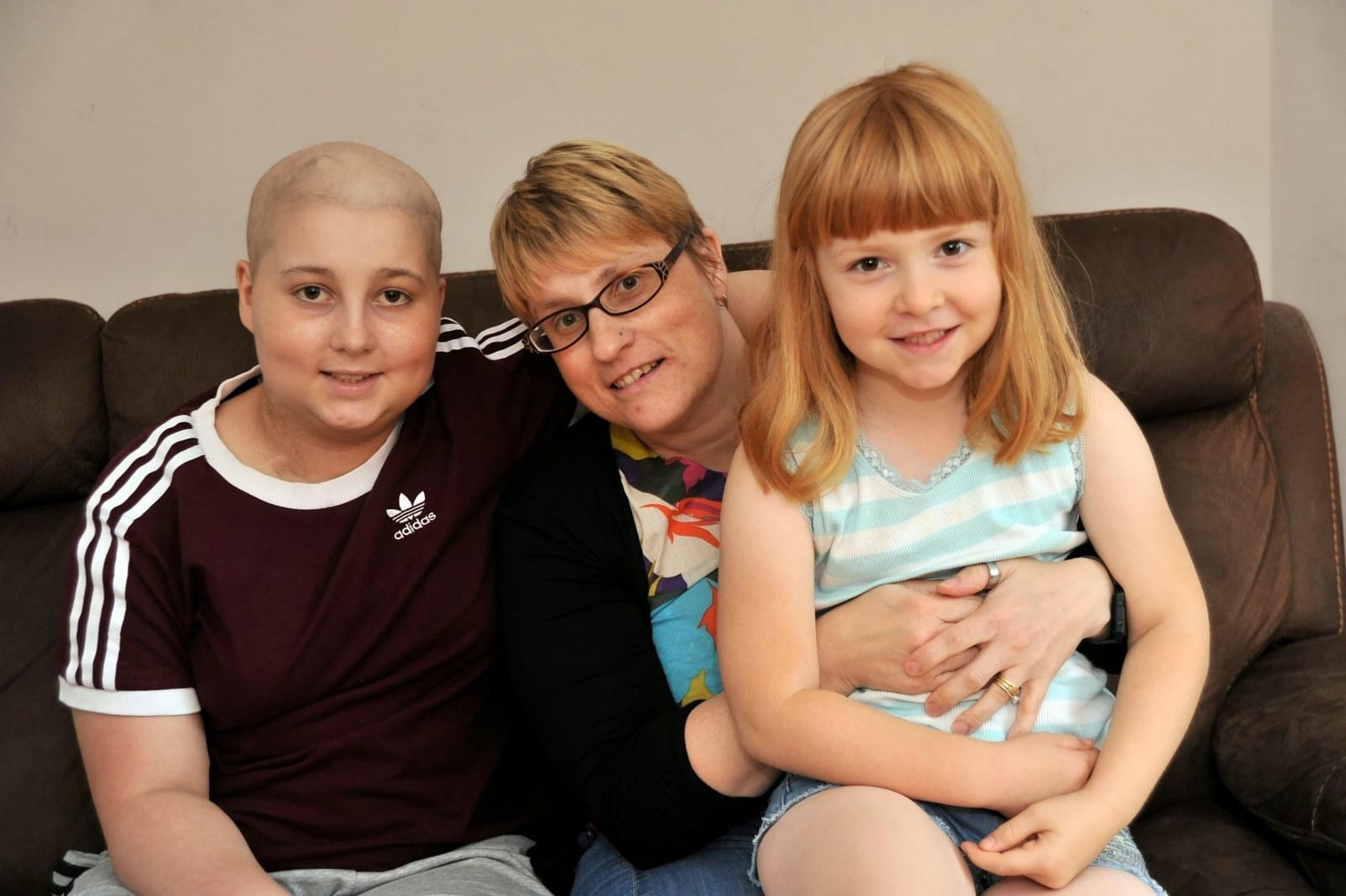Brave Seven-Year-Old Gives Life-Saving Bone Marrow Donation To Save Big Sister From Rare Cancer