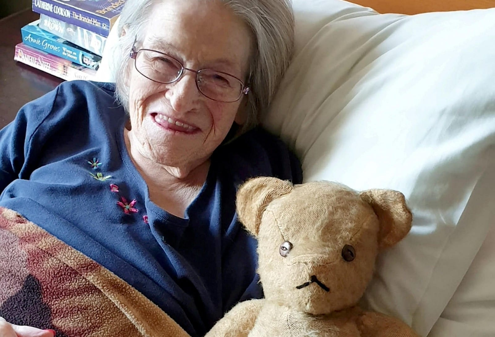A Woman Who Underwent Childhood Heart Surgery In 1947 Has Been Reunited With The Soft Toy That Was Her Comfort During The Ordeal – 72 Years Later