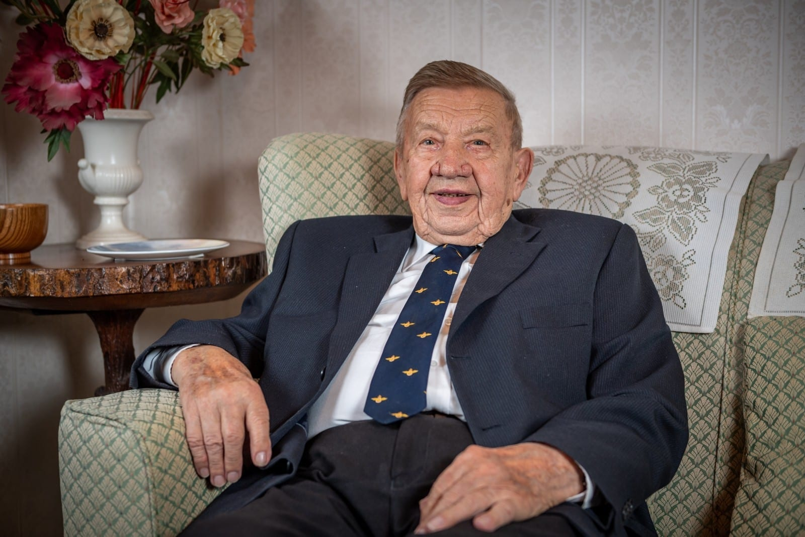 A Man Who Lost All His Documents In The War And Thought He Was 98 Is Celebrating - After Discovering He's 100 This Year