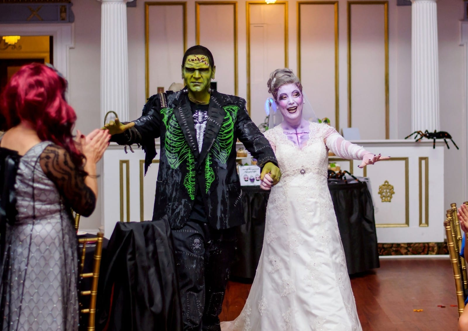 Halloween-Mad Couple Took Their Obsession With The Haunted Holiday To The Next Level – By Making It The Theme Of Their Wedding!