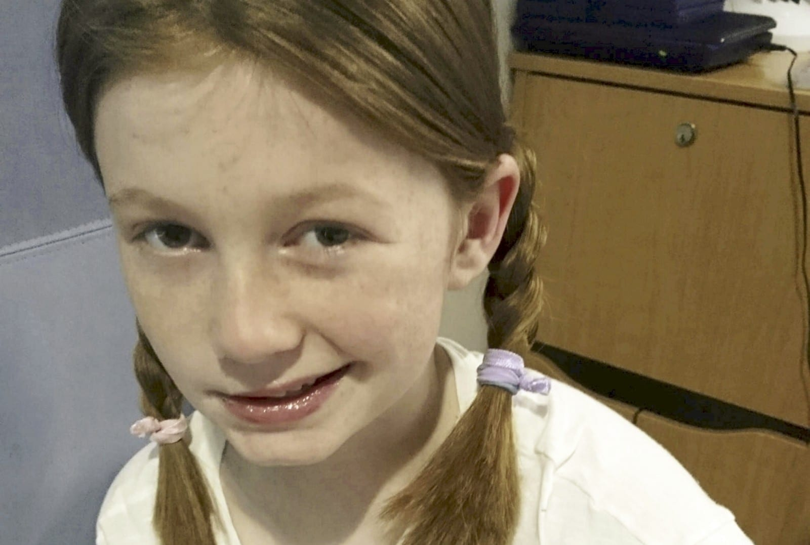 Mum's Horror As 'Healthy' 10-Year-Old Daughter Has Massive Stroke
