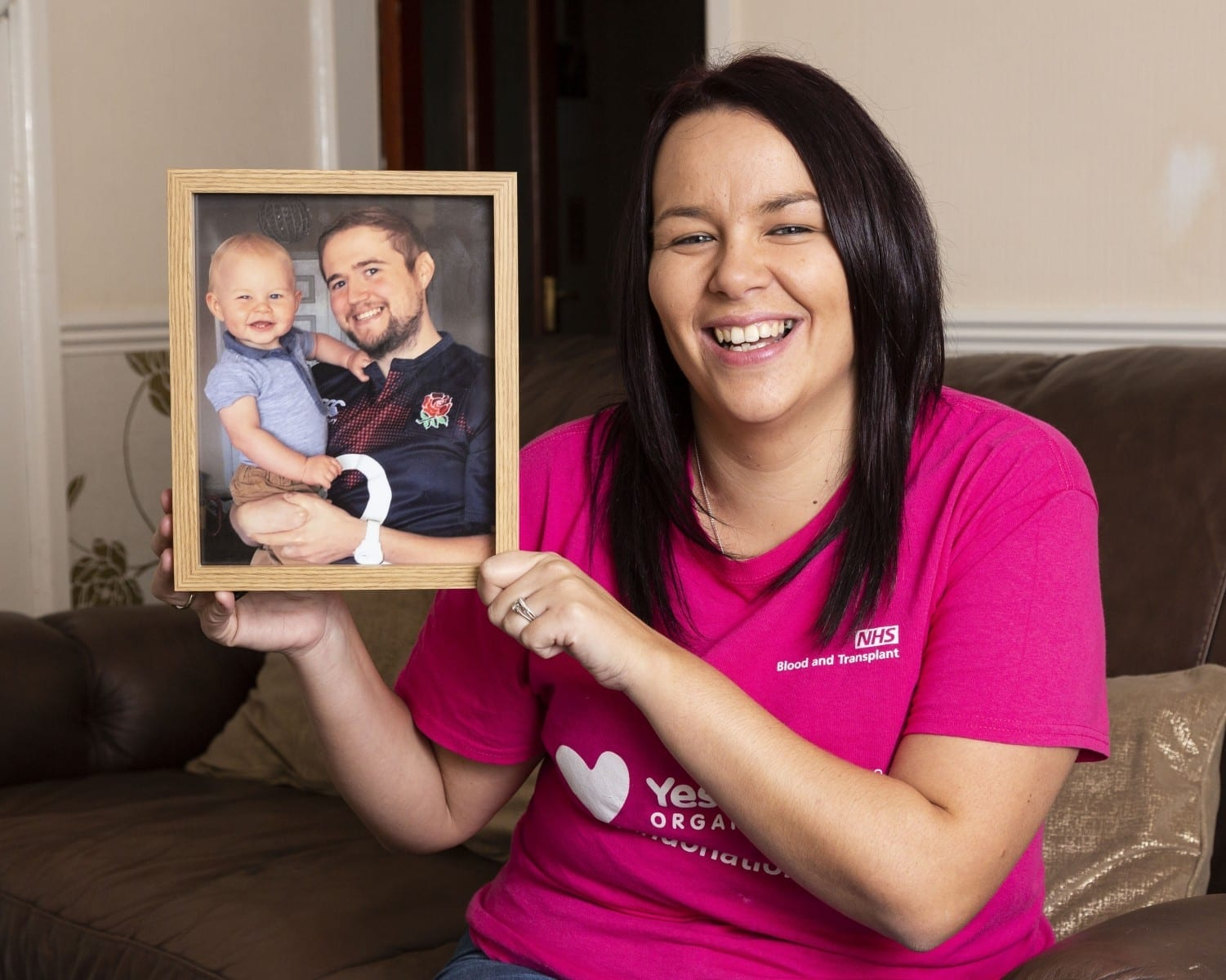 Devoted Young Mum Is Training To Become A Transplant Nurse – After Her Husband Tragically Died From Heart Transplant Complications