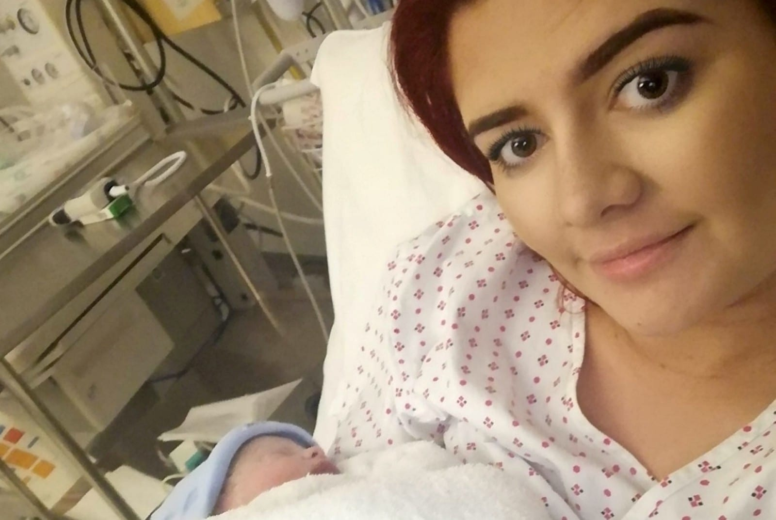 Young Mum Gives Birth To Miracle Boy – Ten Weeks After Her Waters Broke