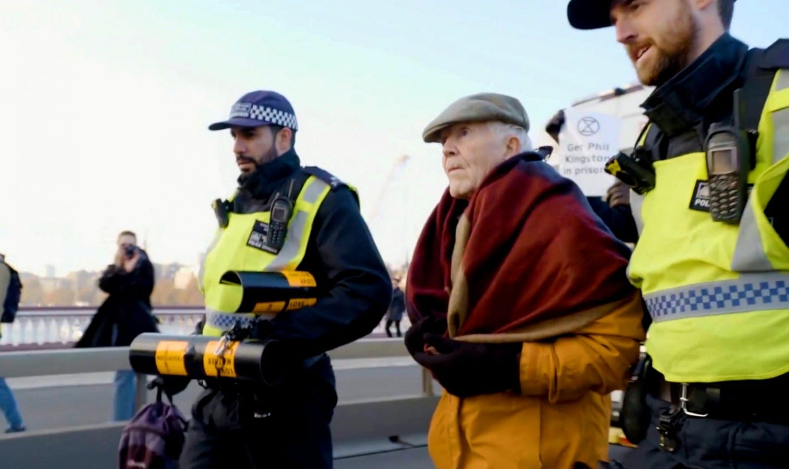 Meet The Grandfather Who's Been Arrested A Staggering Thirteen Times In The Name Of Climate Change - And Counting