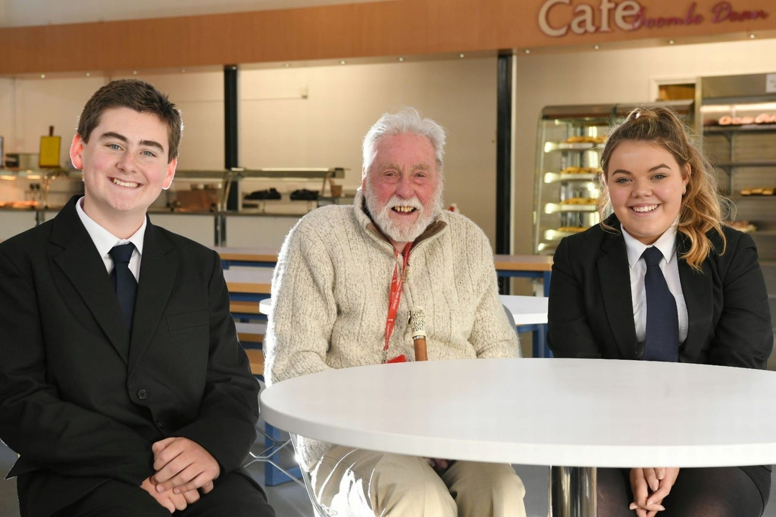 'Coming Here Has Brought Me Out Of My Shell Again' - Pensioner Invited Into School For Lunch With Pupils Every Day - To Stop Him Feeling Lonely After The Death Of His Wife