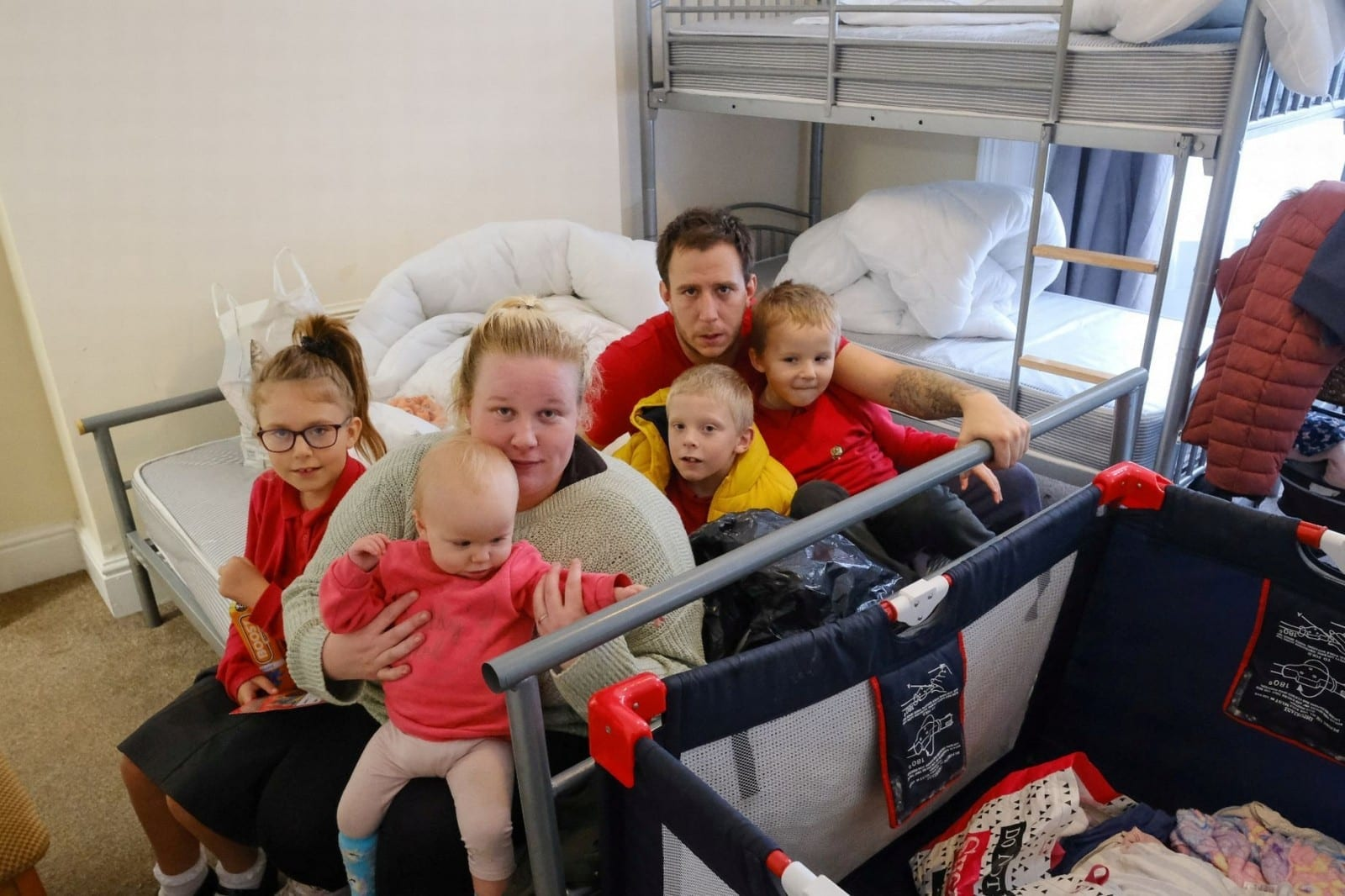 Family Of Six With Disabled Child Left Living In One