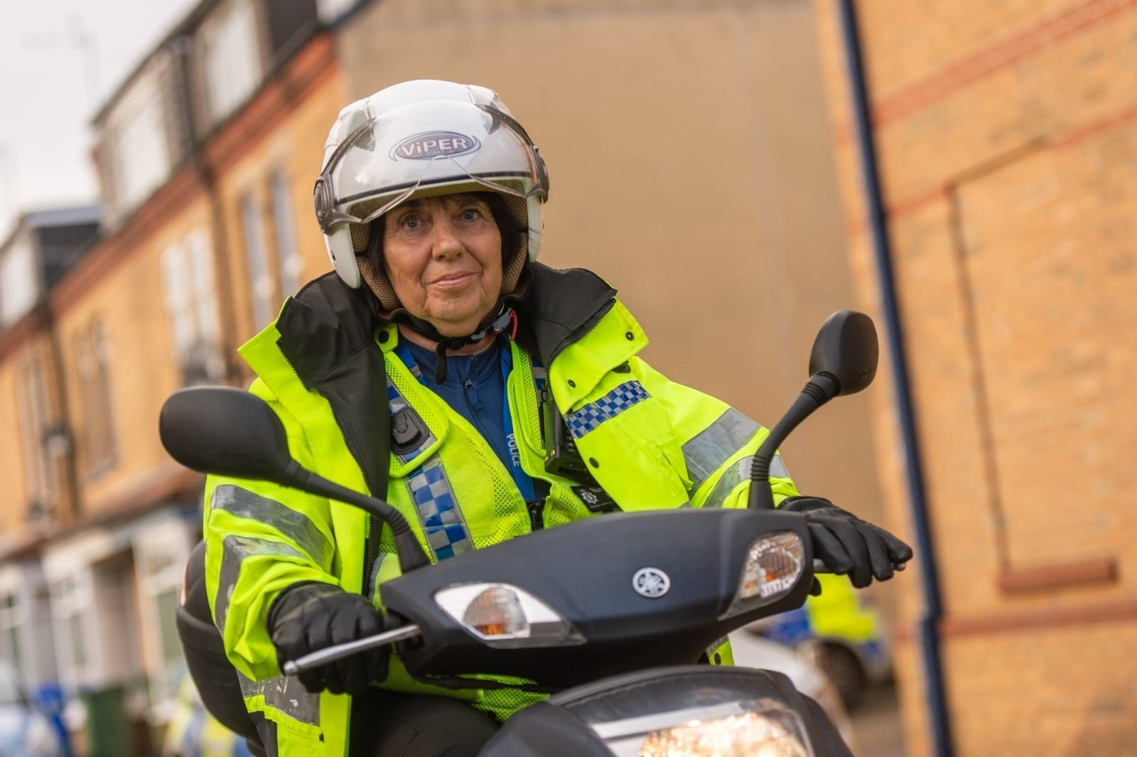 'I Might Look Old But I Feel Young And I Still Have A Lot To Give' - Gran, 71, Is UK's Oldest PCSO And Has No Plans To Retire