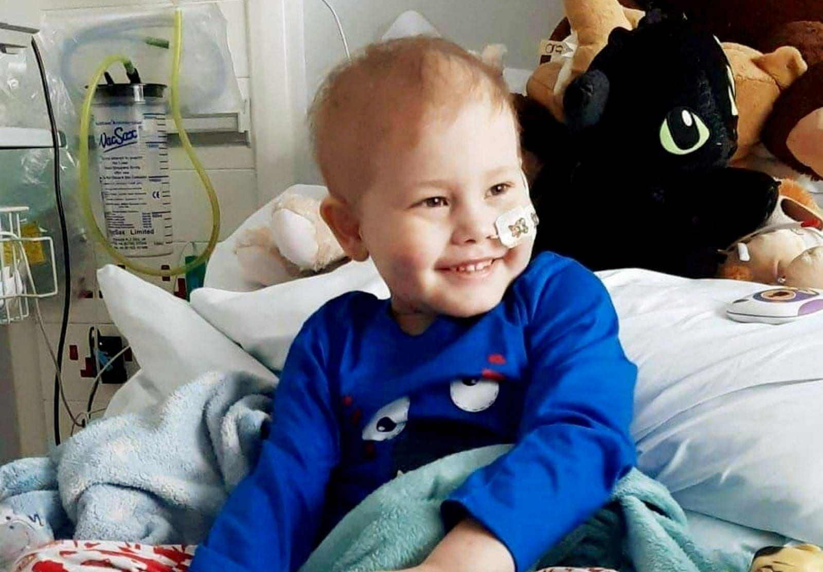 'All We Want To Do Is The 'Right' Thing By Our Baby'  -  Five-Year-Old Is Heading To Singapore After Members Of The Public Donated £500K For Potentially Life-Saving Leukaemia Treatment