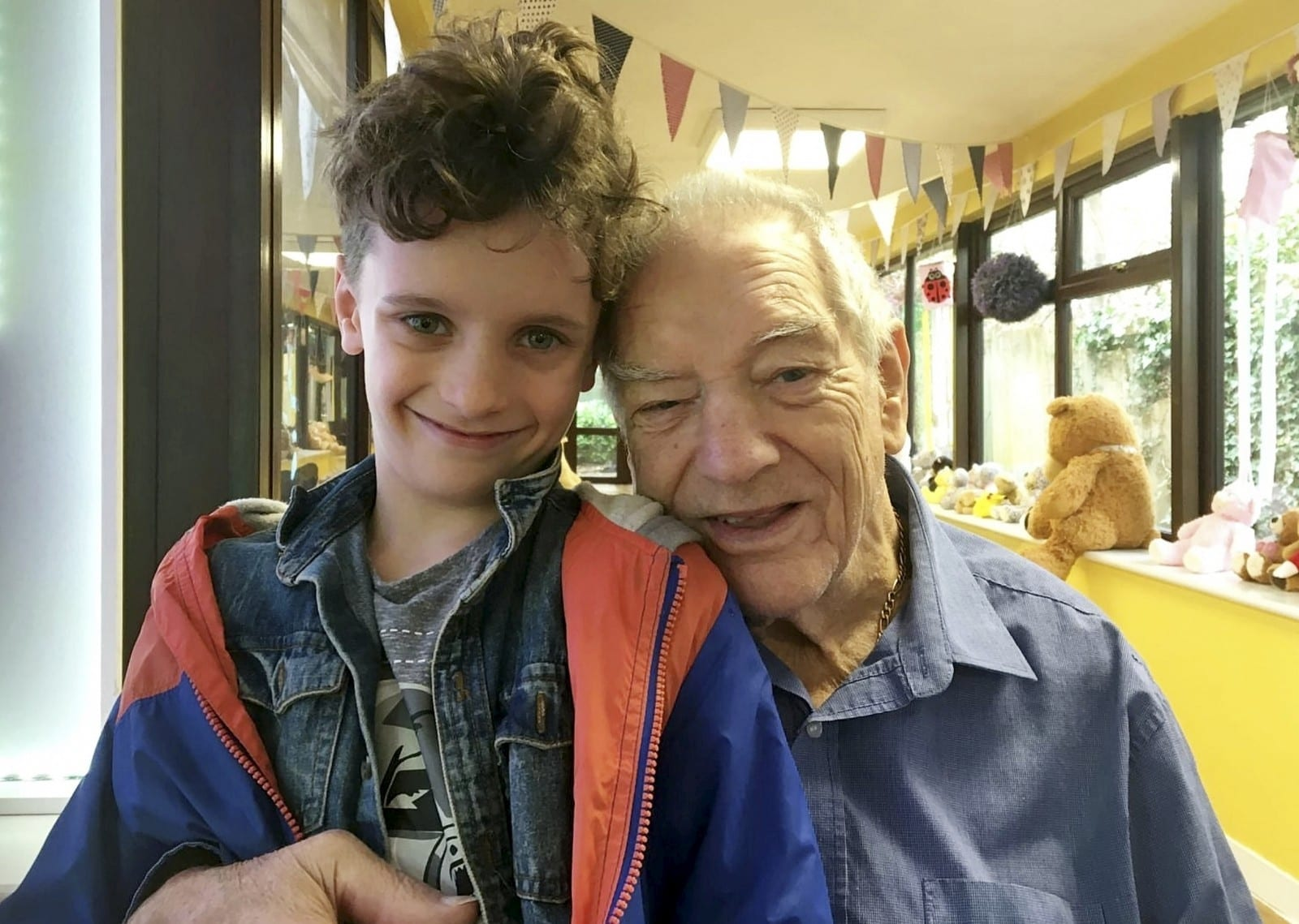 'I Want To Give My Grandad The Trip Of A Lifetime' - Hardy Schoolboy Has Worn SHORTS Every Day For A YEAR - To Raise Enough Money To Send His Granddad To The Seaside