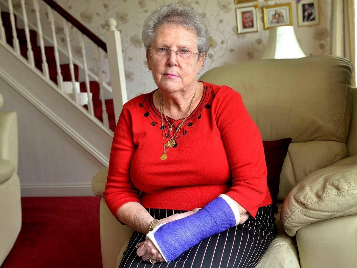 'I Don't Care Who's Sausage Roll It Was, It Shouldn't Have Been There!' – Pensioner Rushed To Hospital After Fall In Poundland – When She Slipped On Sausage Roll