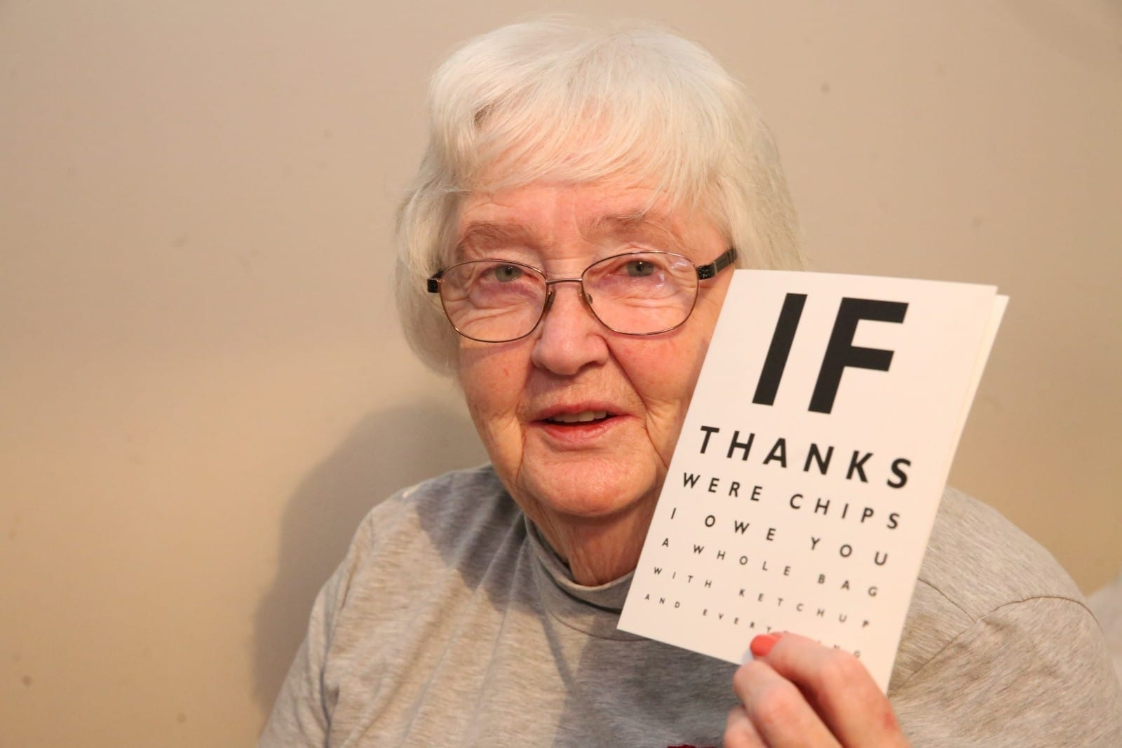 'They Saved My Life' - 80-Year-Old Had Her Life Saved By Opticians - Who Spotted She Was Having A Stroke