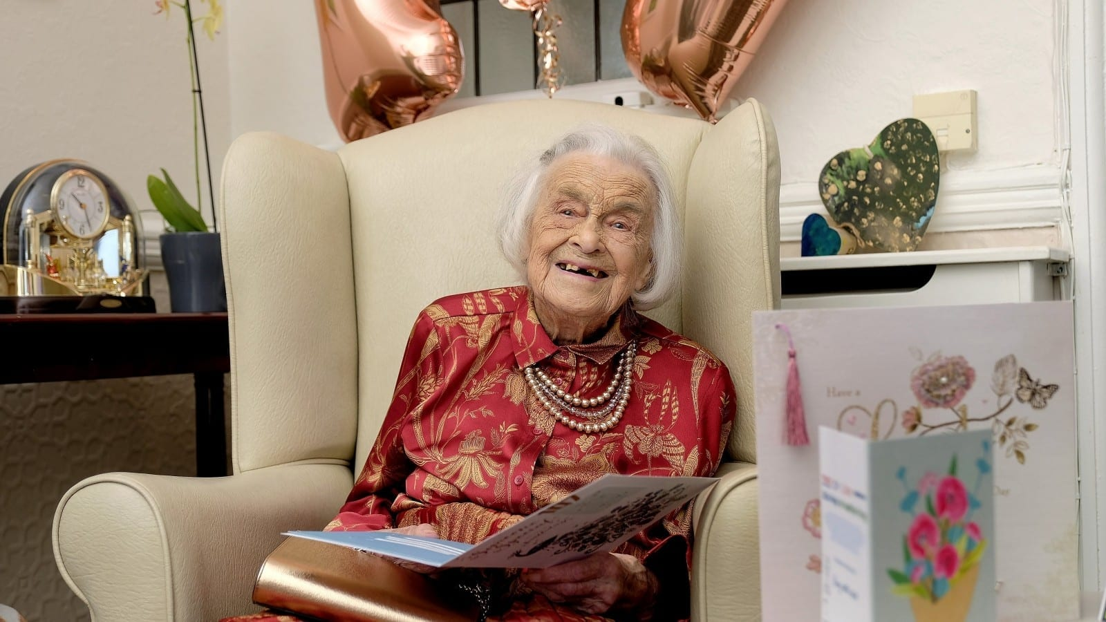 A Sprightly Spinster Who Has Celebrated Her 107th Birthday Has Revealed The Secret To Her Longevity - Staying Single