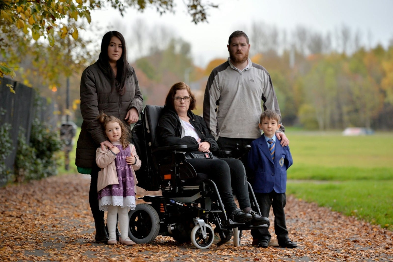 Family Devastated After Plans To Get Paralysed Gran Home For Christmas Put On Hold After Thieves Nick Son's Van And Building Tools
