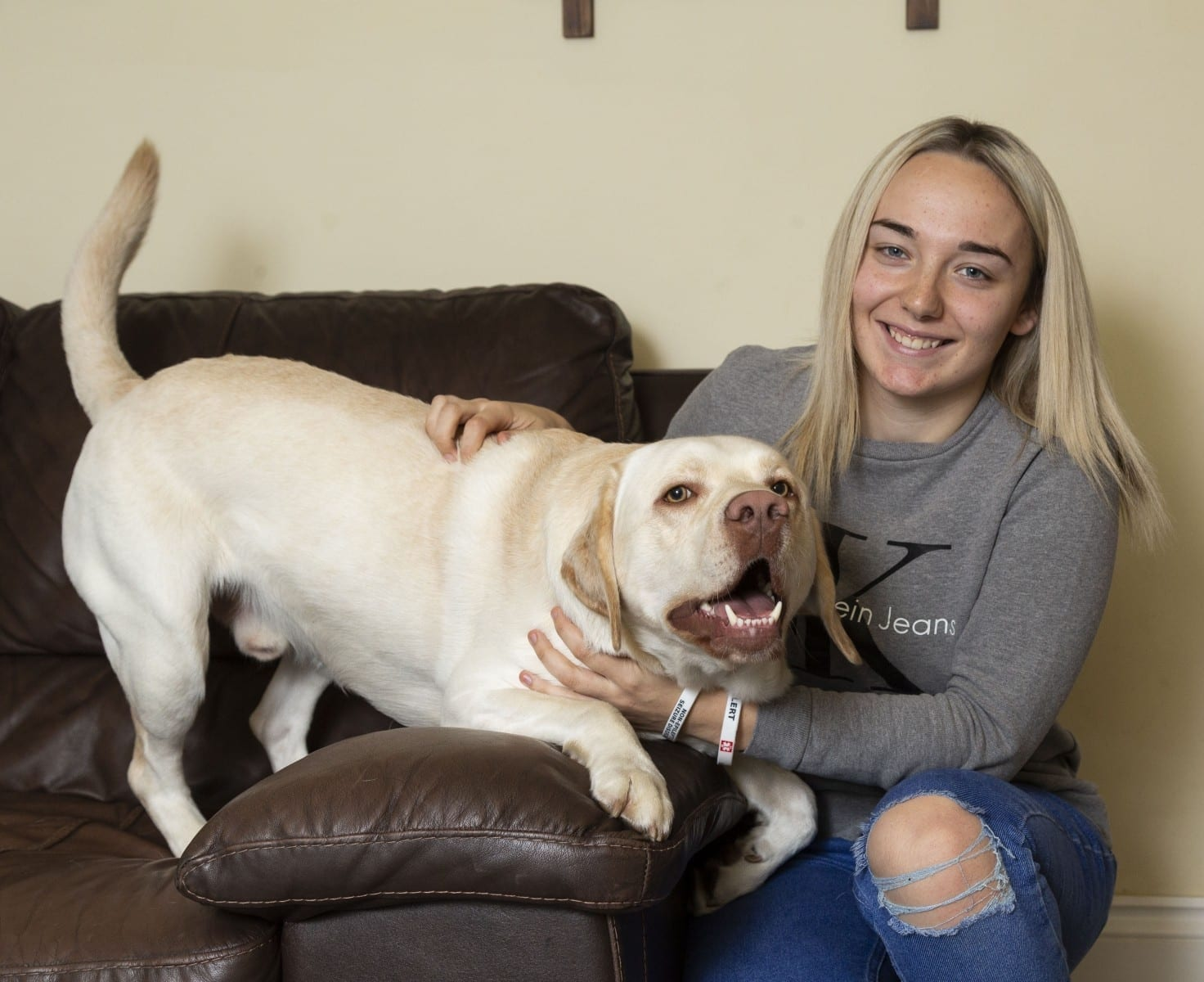 'He Licks And Paws Me To Bring Me Round' - Woman Who Suffers Up To 100 Seizures A DAY Is Regularly Rescued By Her Dog