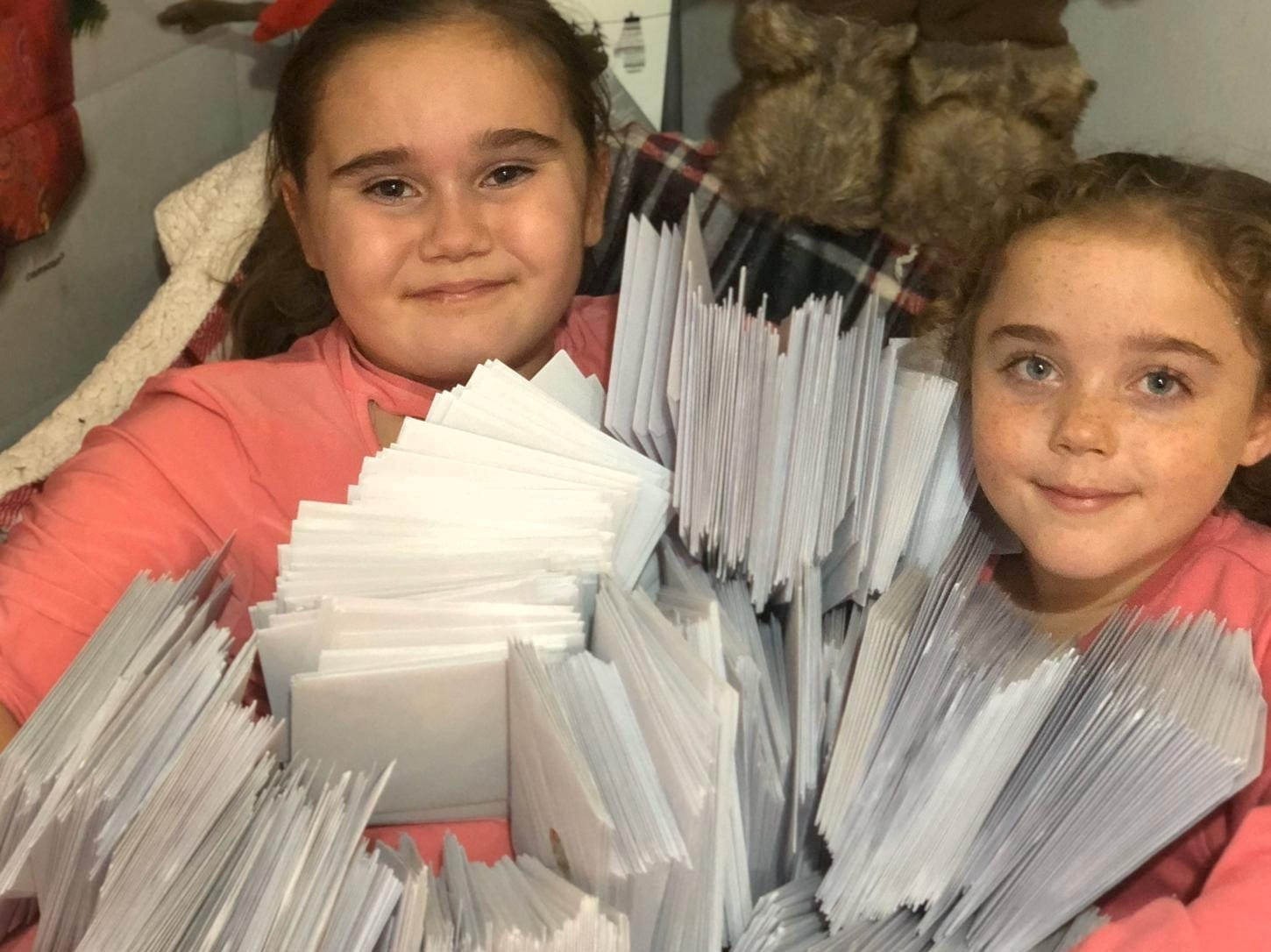 'It's All About Making People Smile' - Schoolgirl Brought Festive Joy To Her Village By Hand-Delivering More Than 1000 Christmas Cards - Despite Only Having One Leg