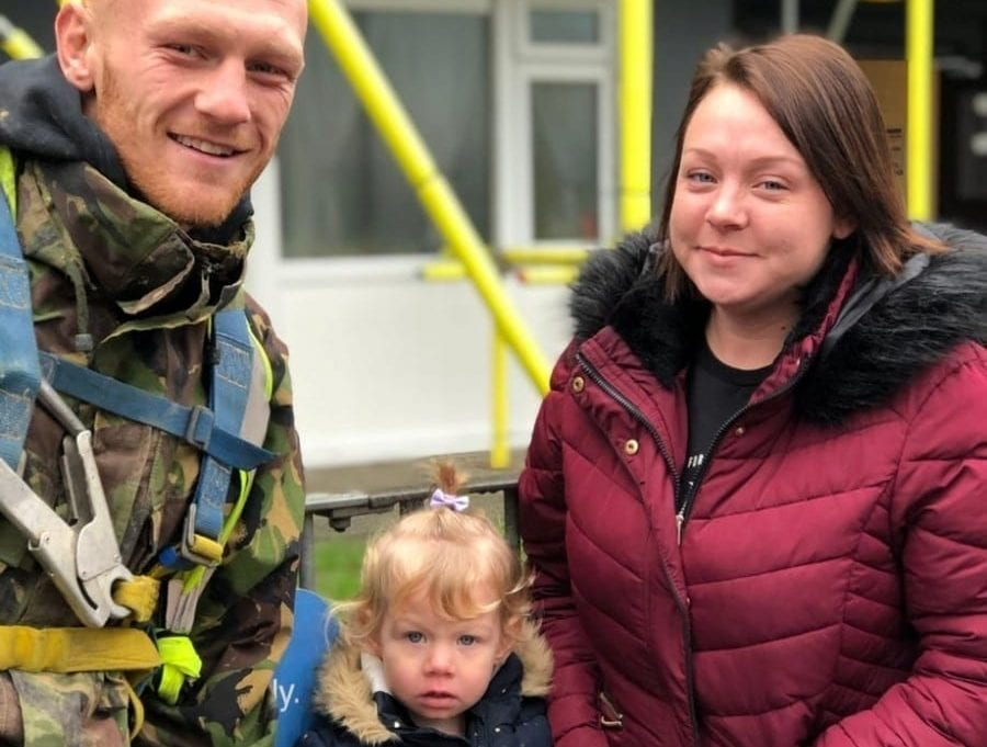 'I Went To The Door Screaming For Help' – Scaffolder Turns Lifesaver To Rescue Toddler Who Was Choking On 2p