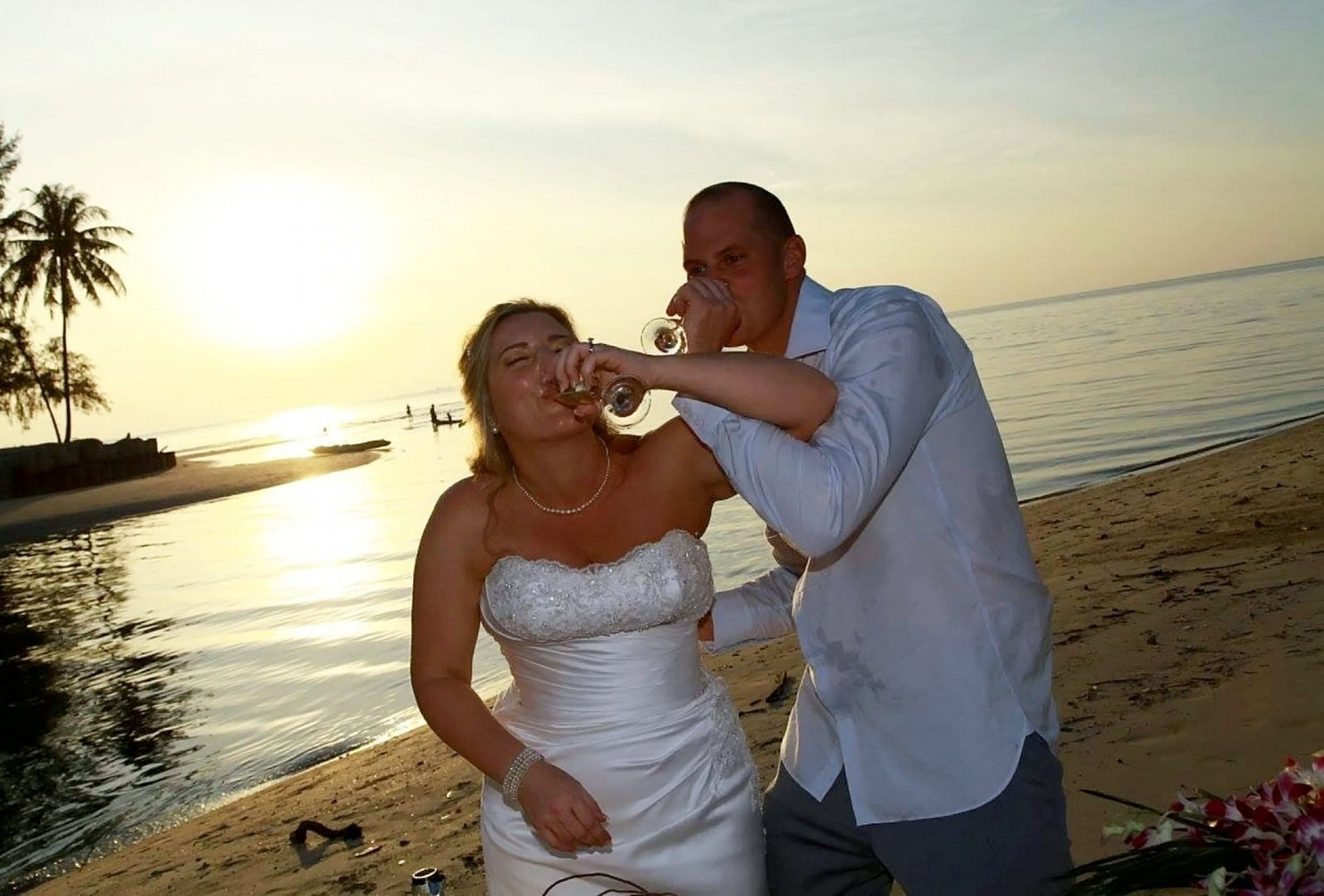 Flaming Heck! A Coconut Almost Killed Me - Just Days After My Wedding