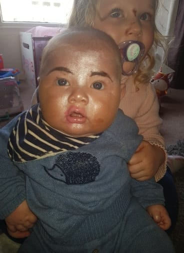My Little Girl Gave Her Baby Brother A Towie-Style Makeover To 'Look Like Mummy'