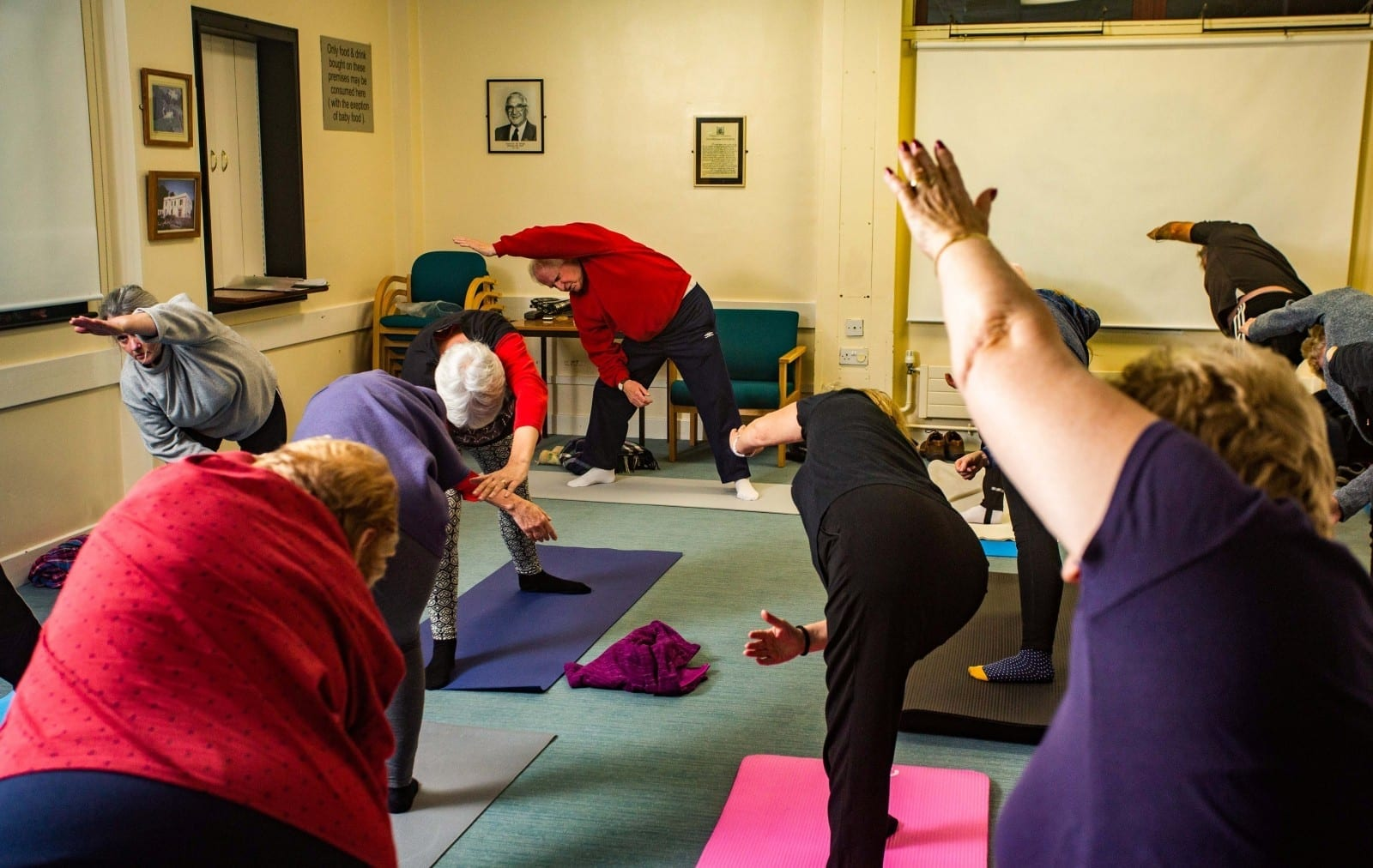 'I Think I Will Still Be Doing It At 100!' - Britain's Oldest Yoga Teacher Is Still Teaching Packed Classes - At The Age Of 90