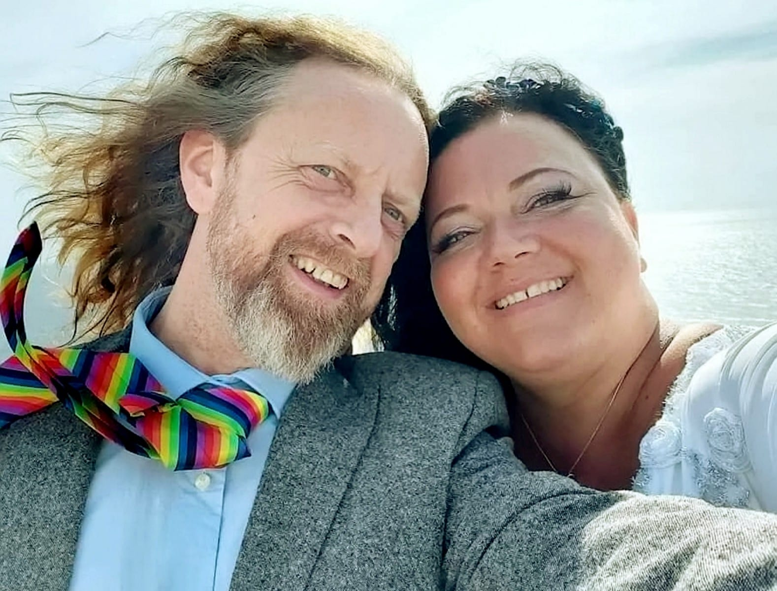 'I'm Ready To Start My New Life With My Soulmate' -Couple Marry After They Found Love While Grieving for Their Long-Term Partners – Who Died Just Six Days Apart