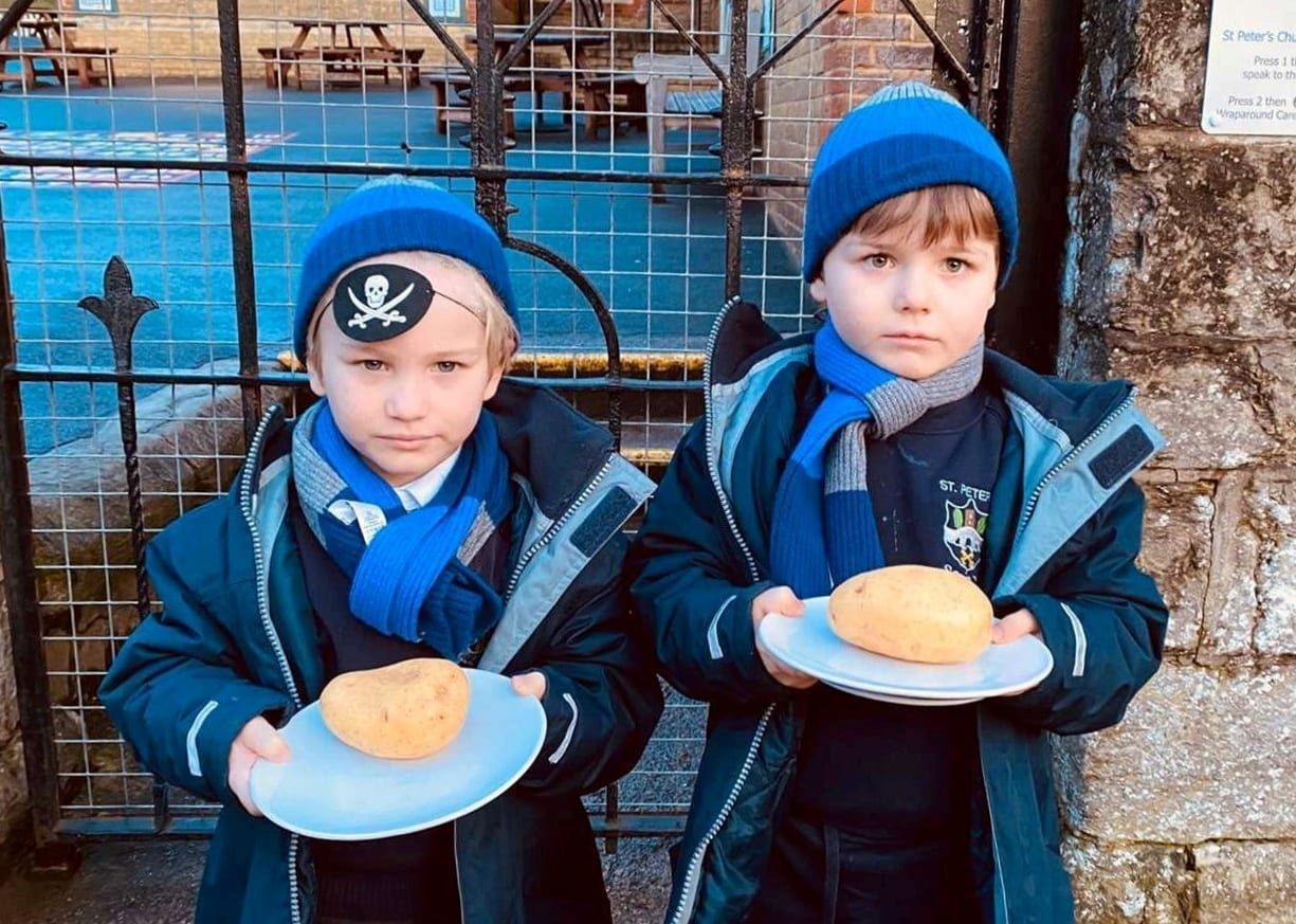 'The Other Boys Laugh At Them' – Father Lashed Out At Primary School For Serving His Boys Plain Jacket Potatoes For Lunch Every Day
