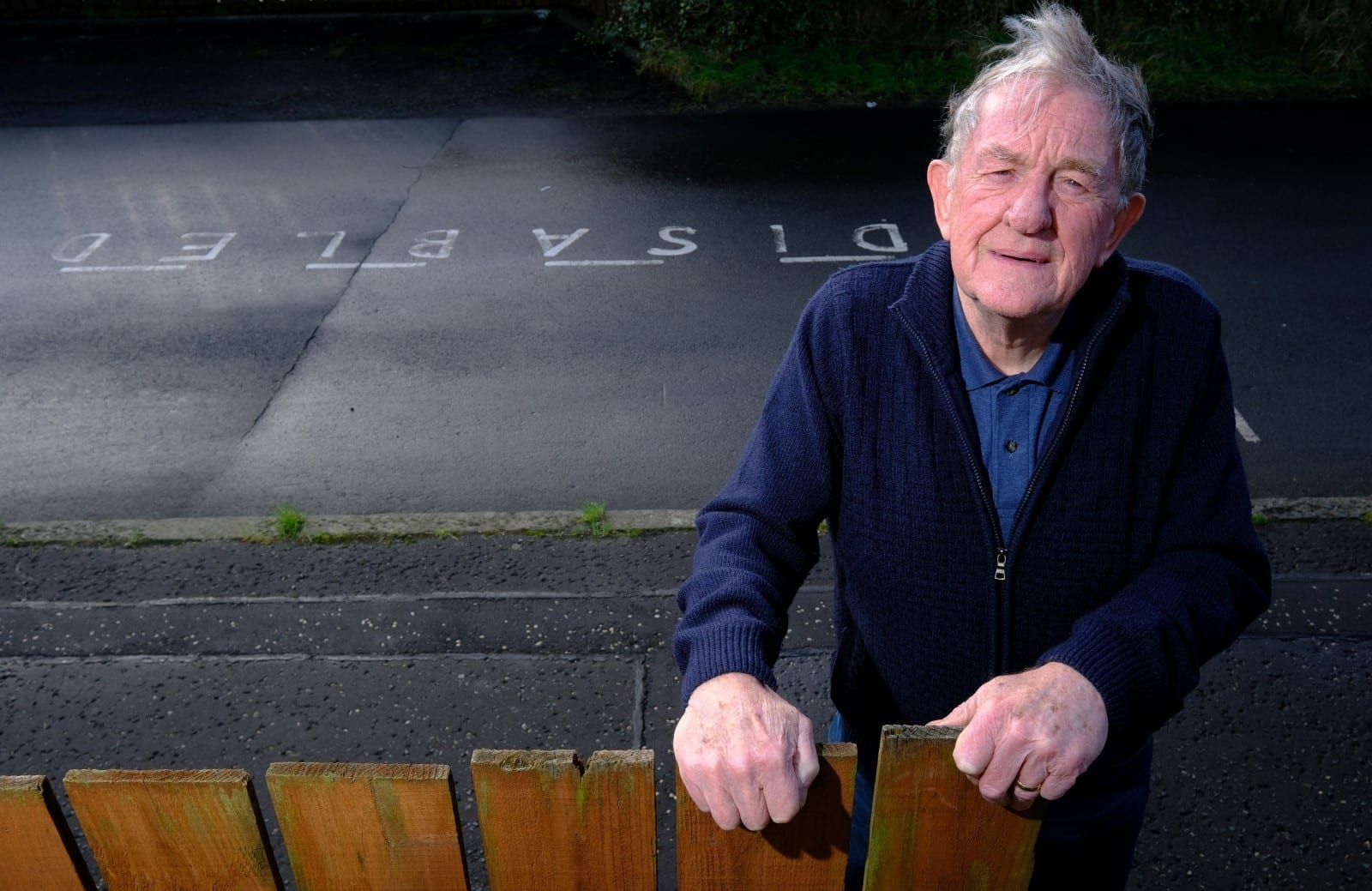 OAP Slapped With A Fine For Parking Outside His Own Home