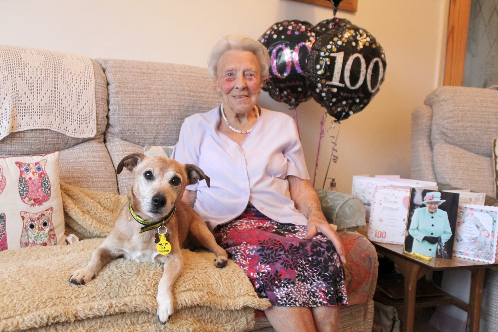 100-Year-Old Woman Has Becomes Britain's Oldest Dog Adopter After Taking In A Fellow OAP