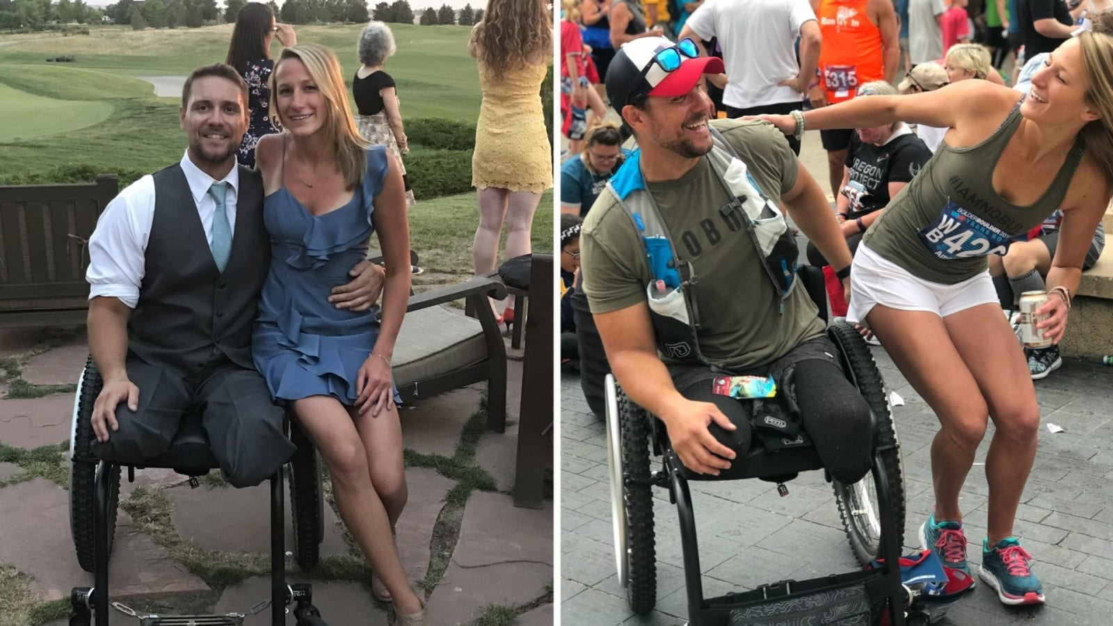 Amputee Finds Love With The Woman He Was Meant To Go On A Date With The Day He Lost His Limbs In Horror Car Crash