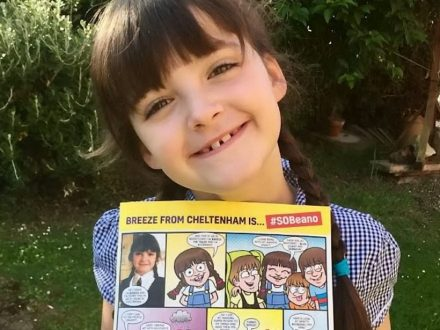 Seven-Year-Old Who Cares For Disabled Siblings Is Turned Into A Superhero - In The BEANO