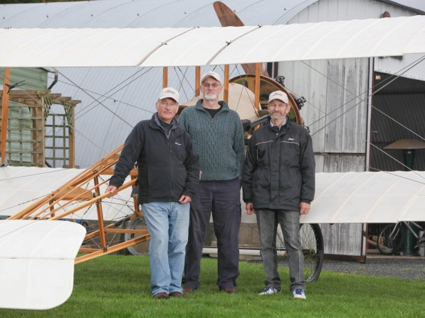 WWI plane restored by grandsons of pilot at £100,000 cost- and flying again