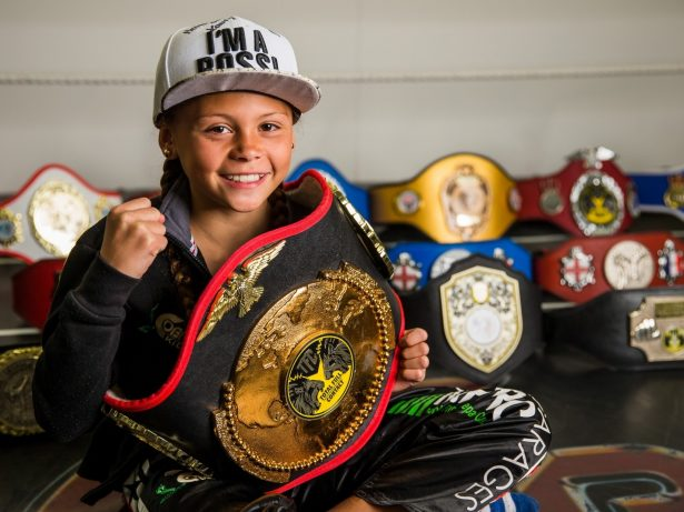 British Ten-Year-Old Is Real Life 'Kick-Ass' And Best Junior Kickboxer In The World