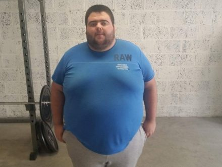Man Loses 20 Stone In Two Years - After XXXXXXL Shirt Didn't Fit Him