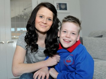 Family in race against time to raise £50,000 for operation to help nine-year-old walk