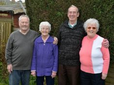Twin Sisters Who Met Husbands On Same Night Celebrate 60th Wedding Anniversary