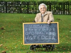 WATCH 97-Year-Old Recite The Alphabet Backwards In Less Than Eight Seconds