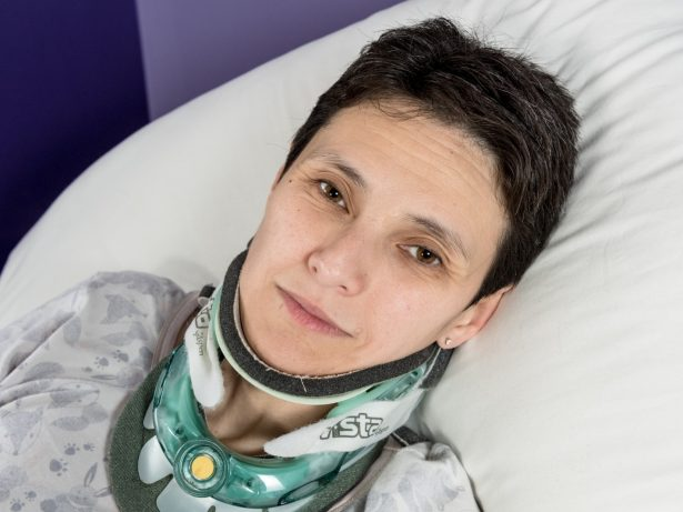 Woman In Race Against Time To Raise £130k For Life-Saving Treatment To Stop Her Brain Falling Out Of Her Skull