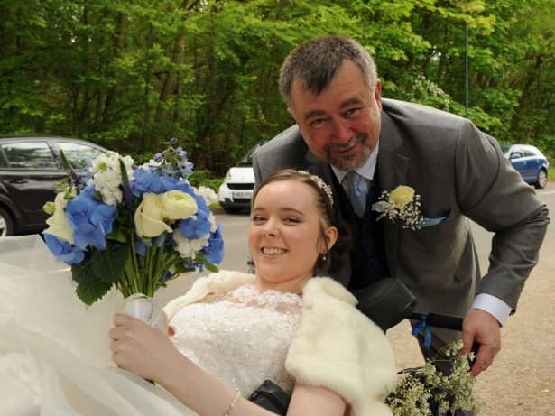 Disabled Woman Who Has Spent The Past 11 Years Stuck In Her Bedroom Fulfilled Wish To Walk Down The Aisle