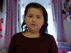 Brave Ten-Year-Old Cancer Sufferer's Hard-Hitting 'C-Word' Video Goes Viral