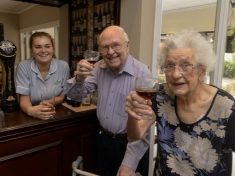 Care Home For The Elderly Opens Up Its Own PUB – Called The Caring Arms