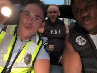 Troupe Of Strippers Go Viral After They Record Cheeky Version Of 'Carpool Karaoke' - Featuring Hunky Channing Tatum Lookalike