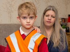 Mum Left Fuming After Her Son Is Forced To Wear A High-Vis Jacket At School – Because He Has Autism