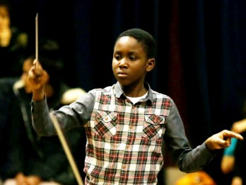 Gifted Lad Set To Become One Of The World's Youngest Orchestra Conductors - AGED 11