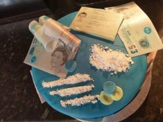 Woman Leaves Boyfriend Speechless With Controversial COCAINE-Themed Birthday Cake