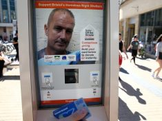 Contactless Donation Points Raise Cash For Rough Sleepers
