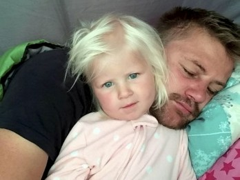Two-year-old girl swept out to sea from holiday beach with her dad has now died