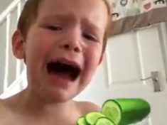 Mum Dashes To Supermarket For Crying Son's Favourite Food – CUCUMBER